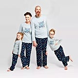 "Holiday ""Merry and Bright"" T-Shirt Family Pajamas Collection"