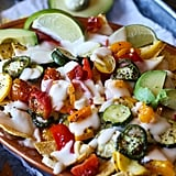 Roasted Veggie Nachos