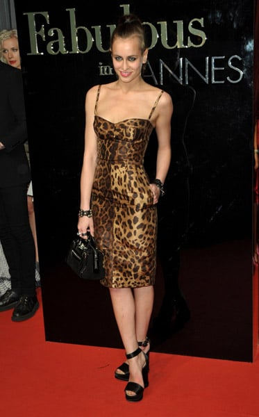 """May 22: Alice Dellal at Dolce & Gabbana's """"Fabulous in Cannes"""" bash at Le Baoli"""