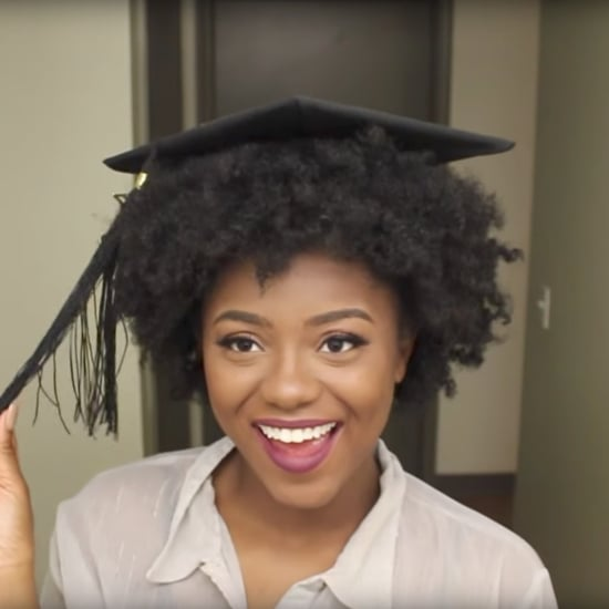 Graduation Cap Hack For Natural Hair