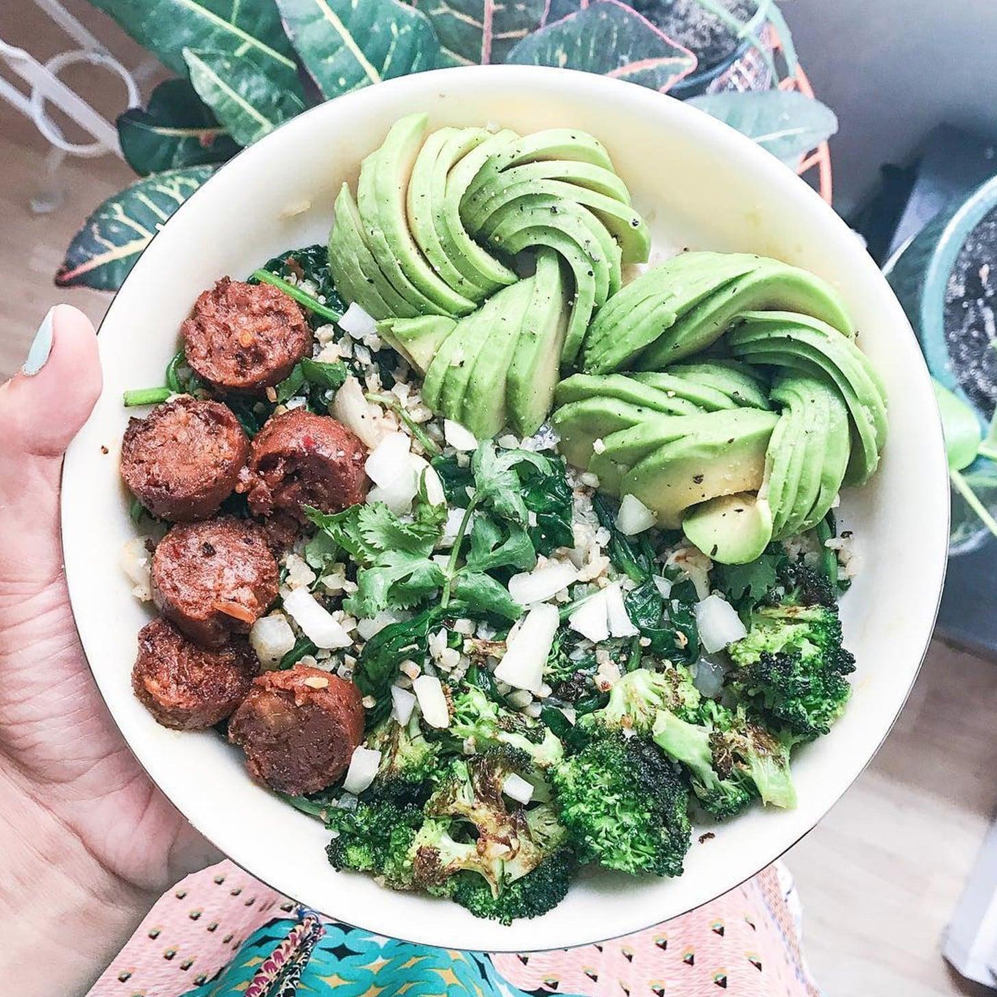 Vegetarian Keto Meals Popsugar Fitness