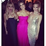 Rachel Zoe, Jessica Alba, and Jaime King spent a moms' night out at the Baby2Baby Gala. Source: Instagram user jaime_king