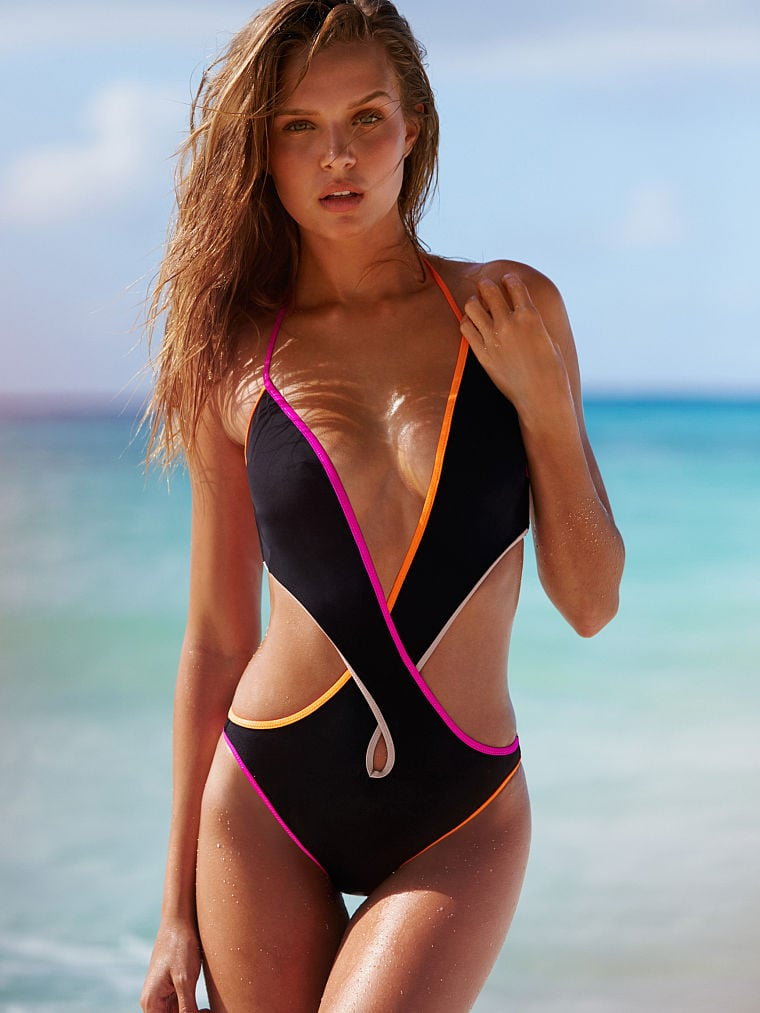 Victoria's Secret Strappy Criscross One-Piece ($40, originally $68)