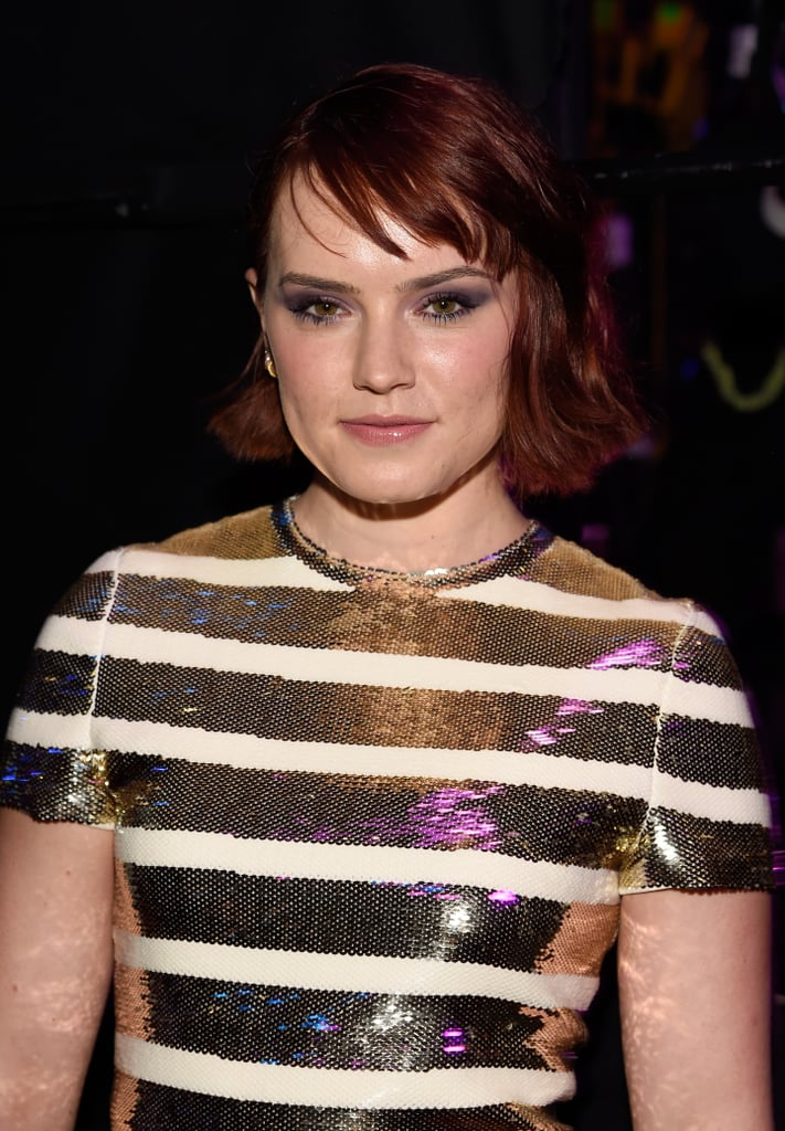 Daisy Ridley Chanel Makeup Teen Choice Awards 2016