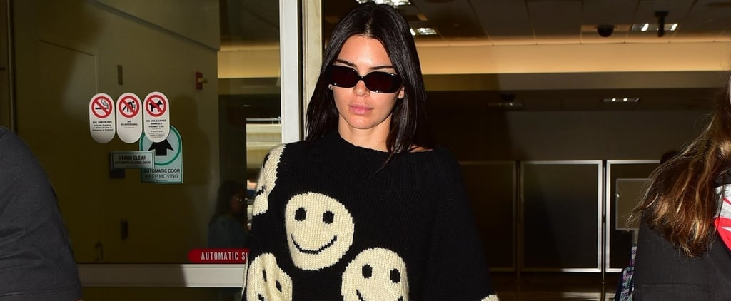 Kendall Jenner Marc Jacobs Smiley Face Sweater