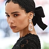 Zoë Kravitz at the Met Gala
