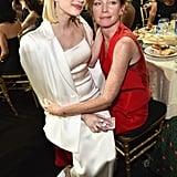Pictured: Emma Roberts and Julianne Nicholson