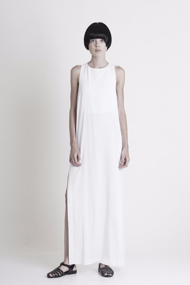 Graffer and Fluf Side Slit Maxi Dress ($242)