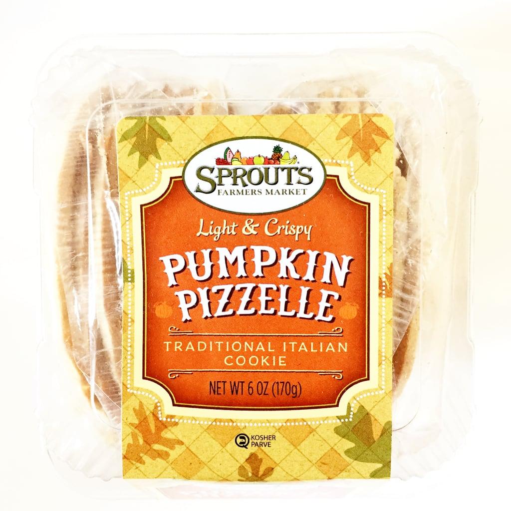Sprouts Pumpkin Pizzelle