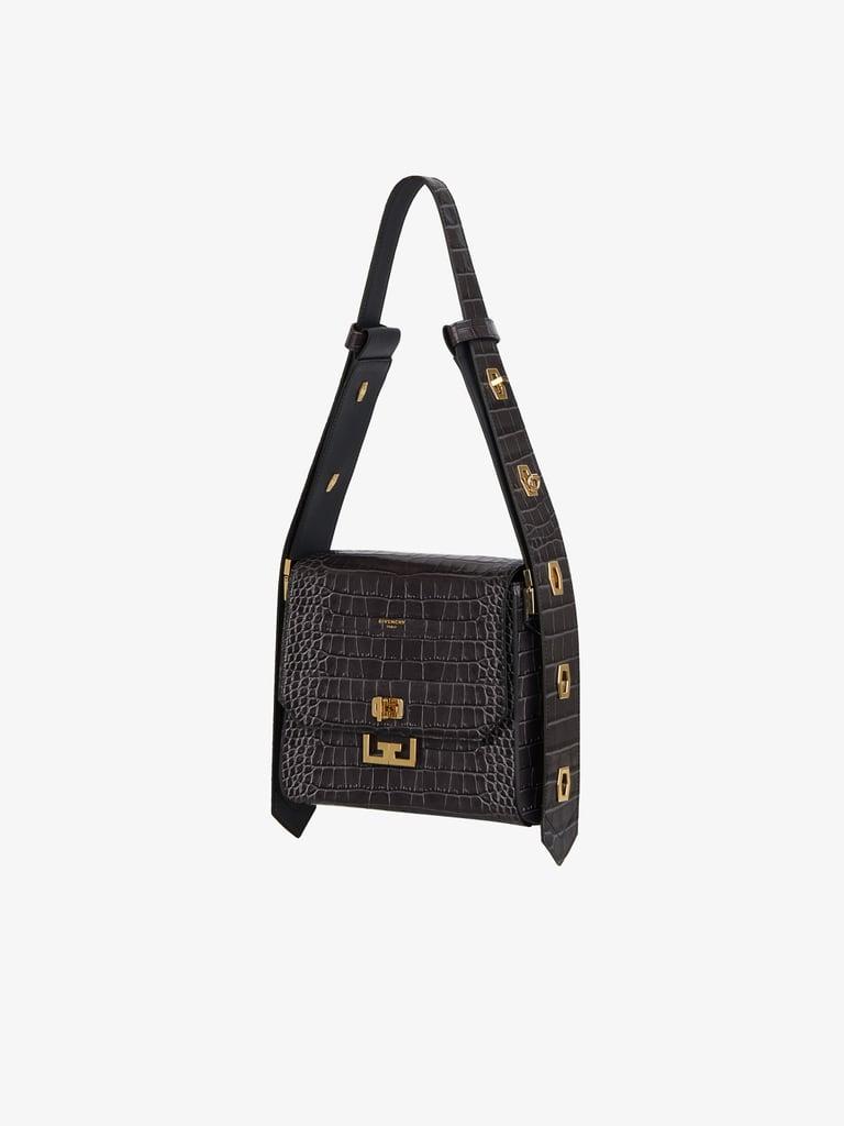 Givenchy Medium Eden Bag in Crocodile Effect Leather
