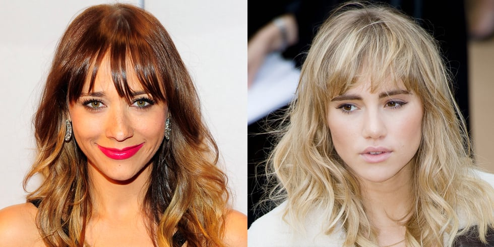 Hair & Beauty Inspiration: Celebrities With Fringes