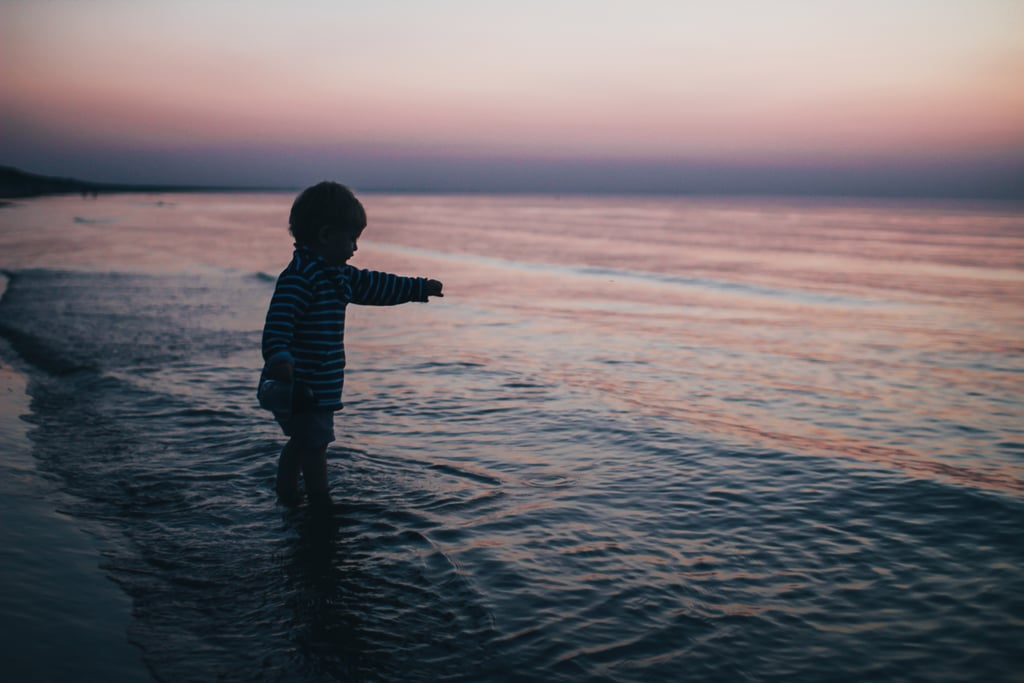 Always Be Within Arm's Reach of a Child in Water