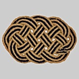 Oval Braided Outdoor Doormat