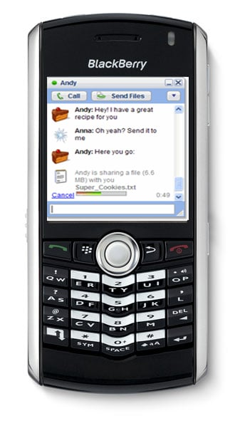 Download Google Talk on Your Blackberry!