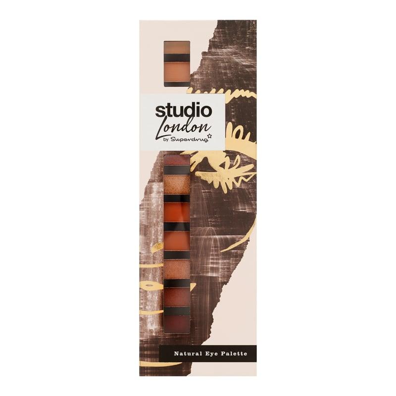 Superdrug Studio London Natural Eyeshadow Palette