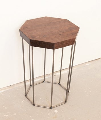 This gorgeous Solid Walnut and Steel Side Table ($325) is the perfect — and perfectly affordable — update for any home.