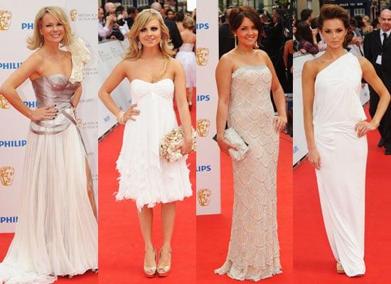 Pictures of Red Carpet at BAFTA TV Awards Including Jane Lynch & Wife, Helena Bonham Carter, Pregnant Emilia Fox, Amanda Holden