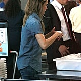 Keri Russell Pictures at LAX