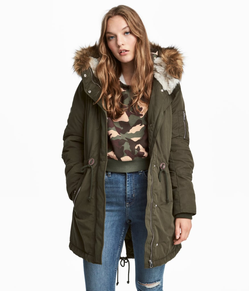release date: e9c23 83db9 H&M Padded Parka | Coats Every Woman Should Own | POPSUGAR ...