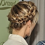 You can see that this braid is just as neat in the back as it appears to be in the front.