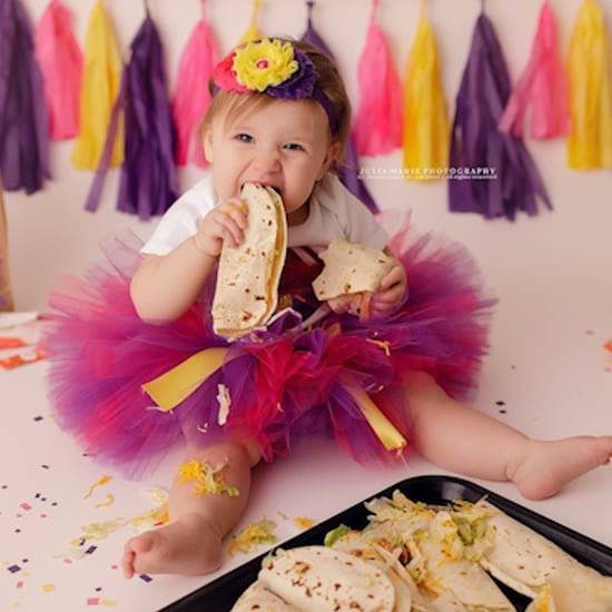 Taco Bell Baby Photoshoot