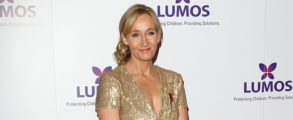 J.K. Rowling Reveals Her Favorite Harry Potter Fan Art, and It's Adorable