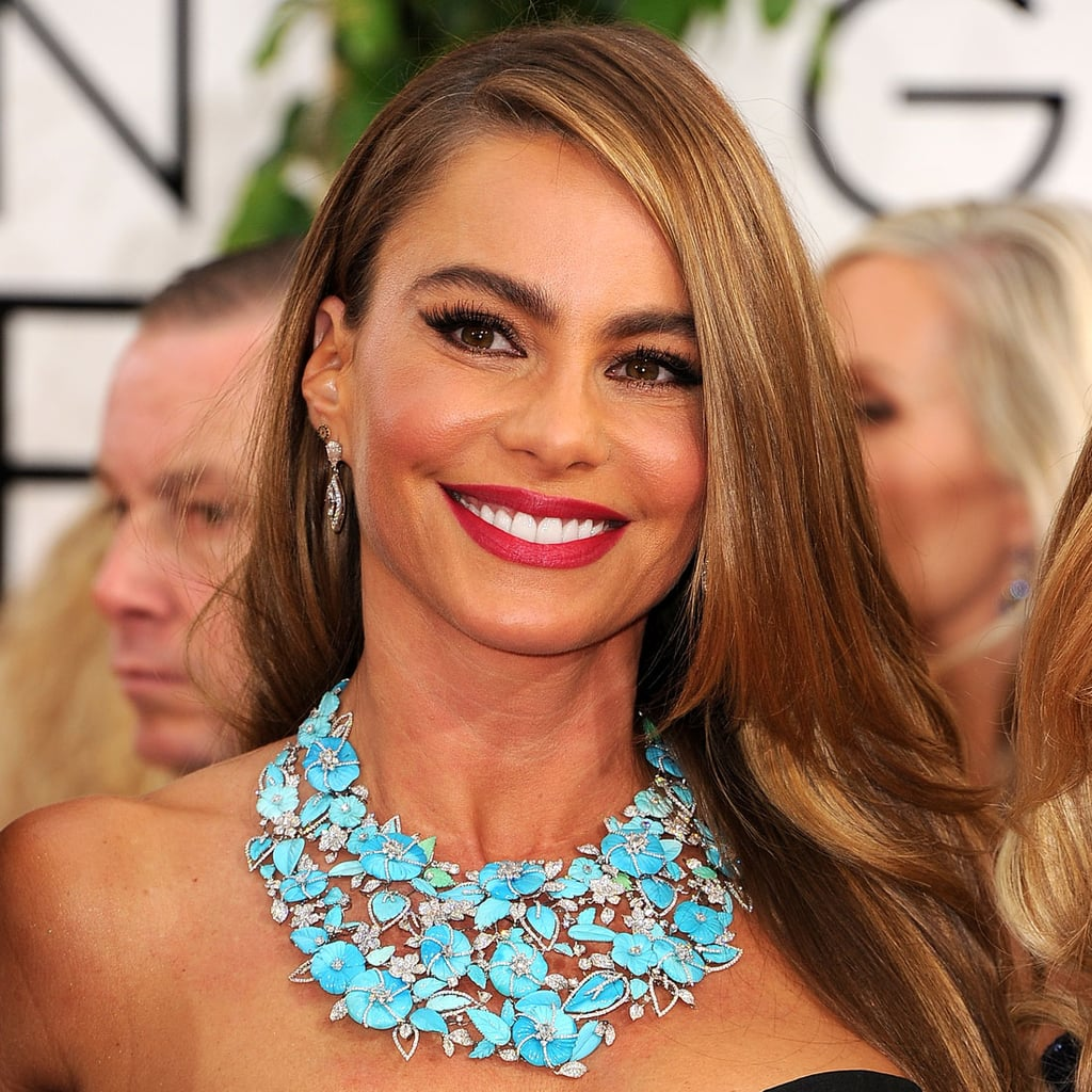 Golden Globes Blue Jewelry Trend