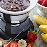 3-Ingredient Chocolate Peanut Butter Fondue