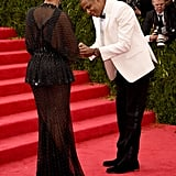 Jay Z Treated Beyoncé Like the Queen She Is at the Met Gala