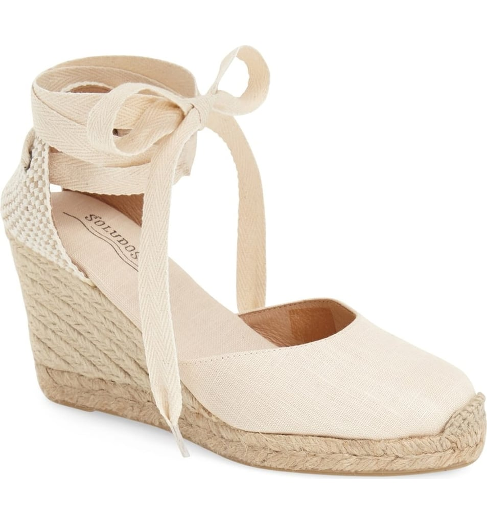 b65046246011 Soludos Wedge Lace-Up Espadrille Sandals