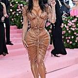 Kim Kardashian at the Met Gala in 2019