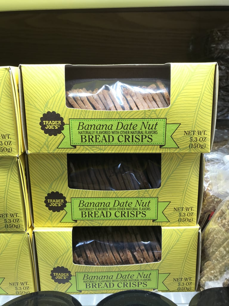 Trader Joe's Banana Date Nut Bread Crisps ($4)