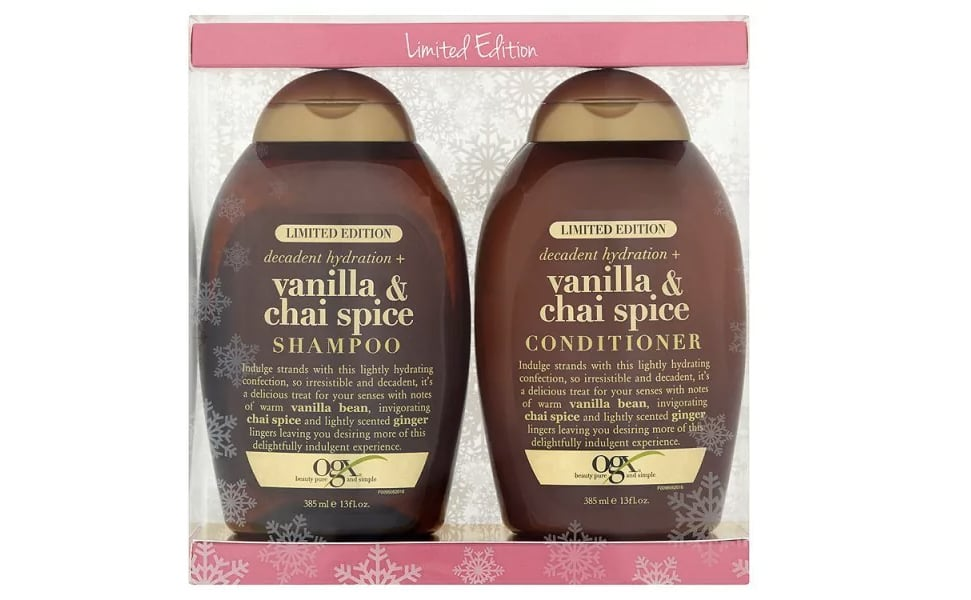 OGX Chai Vanilla Latte Shampoo and Conditioner Review
