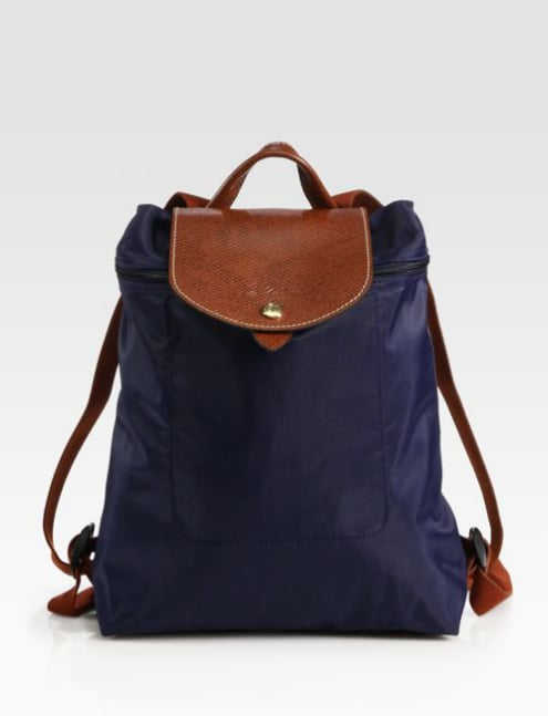 Long relied on for its lightweight nylon totes, Longchamp makes a pretty mean backpack ($125), too.
