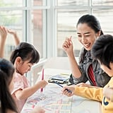 Volunteer in the classroom.