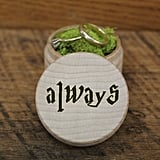 """Always"" Wooden Ring Box ($19)"