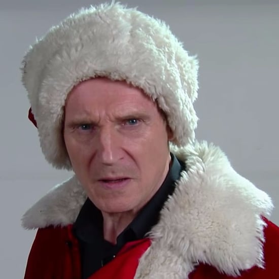Liam Neeson's Mall Santa Claus Audition on Late Show 2016