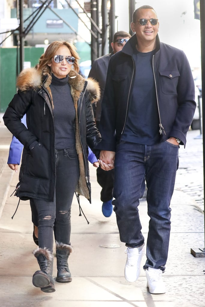 Matching in Jeans in New York City