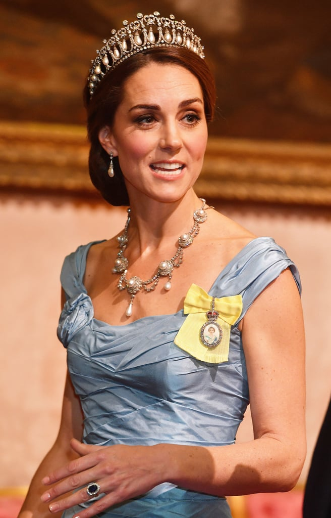 Kate Middleton Wearing the Lover's Knot Tiara