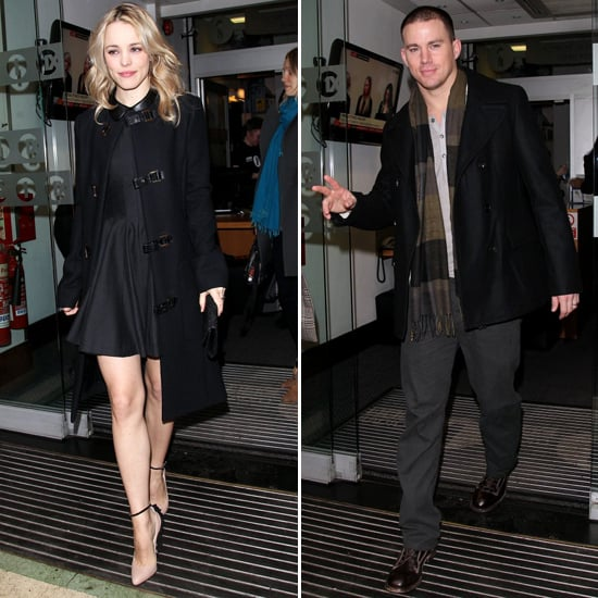 Rachel McAdams and Channing Tatum Take Their Vow Overseas