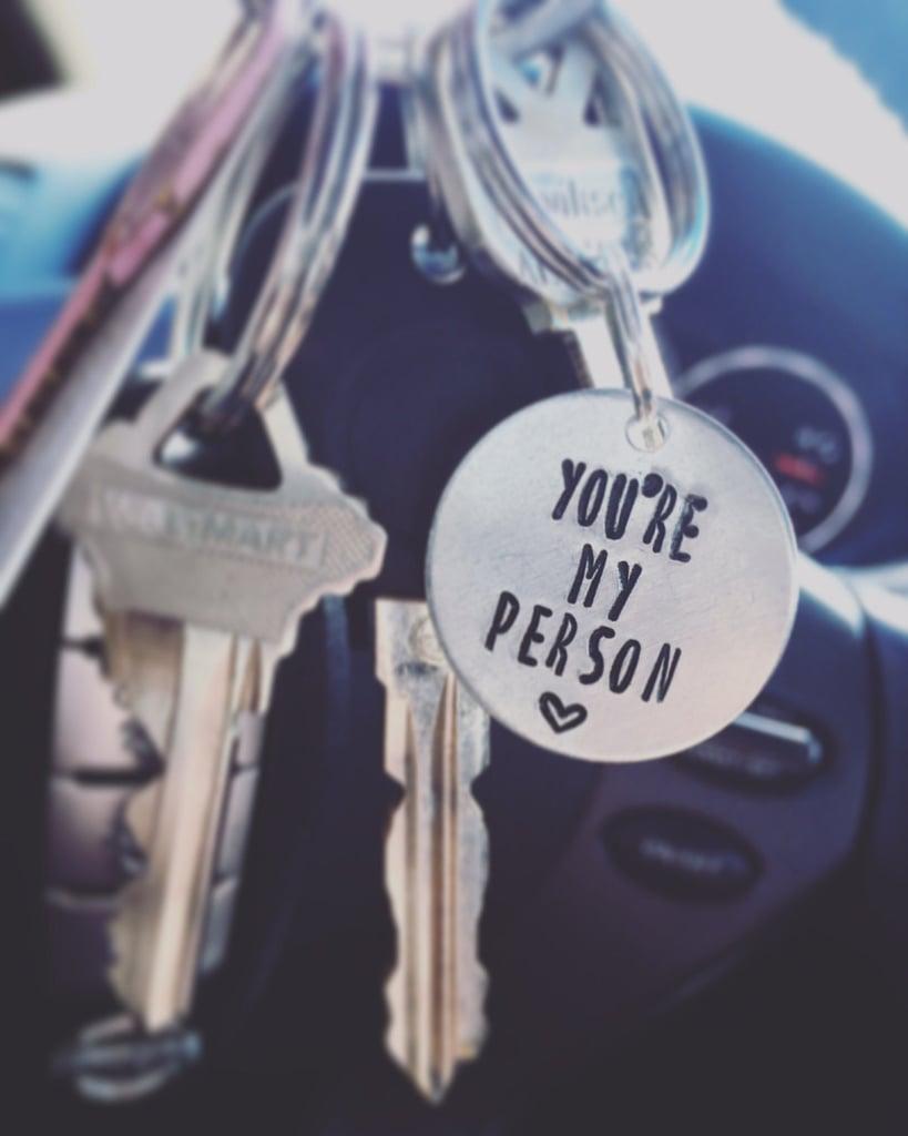 Single Keychain