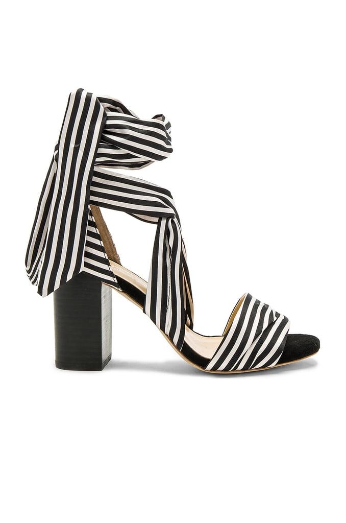 Raye's Maggie Heels ($185) provide the alternative to checks: bold stripes.