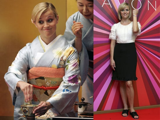 Photos of Reese Witherspoon in a Kimono in Japan
