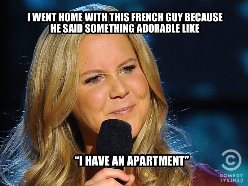 Having an apartment is a really big deal.