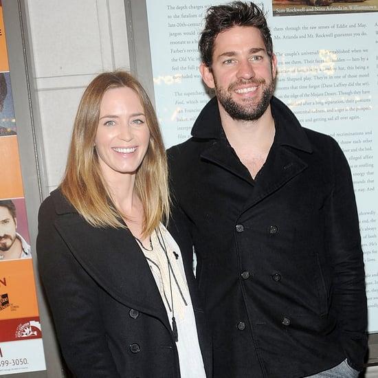 John Krasinski and Emily Blunt at Fool For Love on Broadway