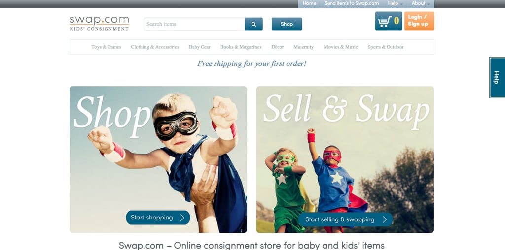 Sell Kids Clothes Online Popsugar Family