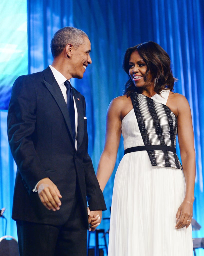 In September, the Obamas looked glamorous for the Congressional Black Caucus Foundation Annual Phoenix Awards.