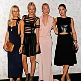 The ladies went sexy and sleek for Barneys's Carine Roitfeld event.