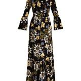 Erdem Floral Silk Gown