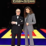 Zendaya Wearing the Tommy x Zendaya Suit in March 2019